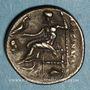 Coins Royaume de Macédoine. Alexandre III le Grand (336-323 av. J-C). Drachme. Abydos (?), 310-301 av. J-C