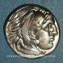 Coins Royaume de Macédoine. Philippe III l'Aridée (323-316 av. J-C). Drachme. Lampsaque, 323-317 av. J-C