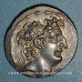 Coins Royaume de Syrie. Antiochus VIII Grypus (121-96 av. J-C). Tétradrachme. Antioche (109-96 av. J-C)