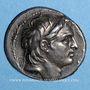 Coins Royaume de Syrie. Démetrius I Soter. Tétradrachme. Antioche sur l'Oronte, 153/2 av. J-C