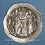 Coins Royaume sassanide. Hormazd IV (579-590). Drachme, type I/1, an 12. BYS = Bishapur