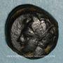 Coins Sicile. Aitna. Bronze, vers 405-400 av. J-C