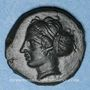 Coins Sicile. Entella. Bronze, vers 420-410/404 av. J-C