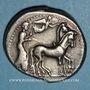 Coins Sicile. Géla. Tétradrachme, 420-405