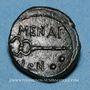 Coins Sicile. Ménaion. Hexas. Fin du 2e siècle av. J-C