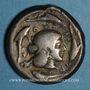 Coins Sicile. Syracuse. Tétradrachme, vers 475-470 av. J-C