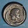 Coins Sicile. Syracuse. Tétradrachme, vers 485- 479 av. J-C