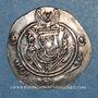 Coins Tabaristan. Gouverneurs Abbassides. Monnayage anonyme à la légende Abzüd. 1/2 drachme PYE 130