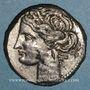 Coins Zeugitane. Carthage. 1 1/2 shekel de billon. Carthage, 230-220 av. J-C