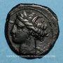 Coins Zeugitane. Carthage. Bronze. Sardaigne vers 300-264 av. J-C