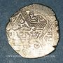 Coins al-Jazira. Ortoquides de Mardin. Ghazi I (637-658H). 1/2 dirham 65(5)H, (Mardin)