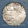 Coins al-Jazira. Ortoquides de Mardin. Ghazi I (637-658H).  Dirham 65xH, Mardin
