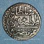 Coins Algérie. Ottomans. Abdoul Hamid (1187-1203H). 1/8 de boudjou 1202H. Alger