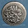 Coins Algérie. Ottomans. Mahmoud II (1223-1255H). 1/8 boudjou 1244H. Alger