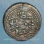 Coins Algérie. Ottomans. Mahmoud II (1223-1255H = 1808-1839). 5 aspres 1244H (= 1828). Alger