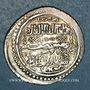 Coins Anatolie. Ilkhanides. Abu Sa'id (716-736H).  Double dirham année 33 (Khani), Hortu