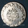 Coins Anatolie. Ottomans. Abdoul Mejid (1255-1277H). Yirmilik 1255H / an 4, Qustantiniya