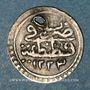 Coins Anatolie. Ottomans. Mahmoud II (1223-1255H).  Para 1223H / an 1 (1er standard), Qustantiniya
