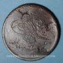 Coins Balkans. Ottomans. Bronze, 40 Para 1255H/ An 22, contremarqué