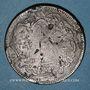 Coins Balkans. Ottomans. Bronze, 40 Para 1277H/ An 4, contremarqué