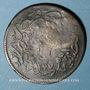 Coins Balkans. Ottomans. Ile de Yunda (proche de Lesbos). Bronze, 20 Para 1277H/ An 1, contremarqué, daté