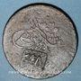 Coins Balkans. Ottomans. Kalloni (Lesbos). Bronze, 20 Para 1255H contremarqué