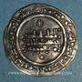 Coins Espagne. Umayyades d'Espagne. 'Abd ar-Rahman III (300-350H).  Dirham 340H. Madinat al-Zahra