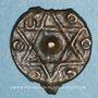 Coins Maghreb. 'Alawites. Moulay 'Abd ar-Rahman (1238-1276H).   Fals 12(6)0H