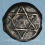 Coins Maghreb. 'Alawites. Moulay 'Abd ar-Rahman (1238-1276H). Fals 1260H. Rabat al-Fath