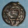 Coins Maghreb. 'Alawites. Moulay 'Abd ar-Rahman (1238-1276H).  Fals 1271H