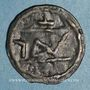 Coins Maghreb. 'Alawites. Moulay Sulayman II ? (1207-1238H).  Fals (imitation ?)