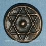 Coins Maghreb. 'Alawites. Muhammad IV (1276-1290H). 2 fulus 1278H. Tetouan