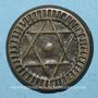 Coins Maghreb. 'Alawites. Muhammad IV (1276-1290H).  4 fulus 1287H. Fes