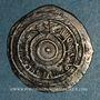 Coins Maghreb. Fatimides. Ep. al-'Aziz ? (365-386H).  Imitation d'un 1/2 dirham