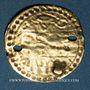Coins Maghreb. Pseudo-monnaie ottomane (XIXe). Or. Type d'un demi de sultani de Mahmoud II (uniface)