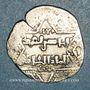 Coins Syrie. Ayyoubides d'Alep. al-Zahir (582-613H). Ar. Dirham (6)2(6)H, attribué aux croisés