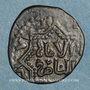 Coins Syrie. Ayyoubides d'Alep. al-Zahir (582-613H). Br, Fals 6(03)-6(12)H, (Alep)