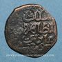 Coins Syrie. Ayyoubides d'Alep. al-Zahir (582-613H). Fals bronze (596-600H), (Alep)