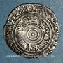Coins Syrie. Fatimides. al-'Aziz (365-386H).  1/2 dirham 3(8)1H. Sur (Tyr)