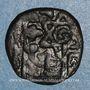Coins Syrie. Mamlouks bahrites. Sha'ban II (764-778H).  Fals, Alep