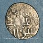 Coins Syrie. Mamlouks burjites.  Khushqadam (865-872H). Dirham argent non daté, (Alep)