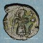 Coins Syrie. Monnayage arabo-byzantin. Umayyades. Epoque Mu'awiya (?) (41-60H). Fals bilingue sans atelier