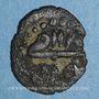 Coins Tunisie. Ottomans. Mustafa III (1171-1187H). Hafsi 118XH. Tunis
