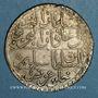 Coins Tunisie. Ottomans. Selim III (1203-1222H). Piastre  1221H. Tunis