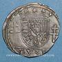 Coins Duché de Lorraine. Antoine (1508-1544). 1/4 teston 1538. Nancy
