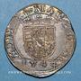 Coins Duché de Lorraine. Antoine (1508-1544). Teston 1544. Nancy