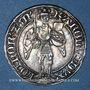 Coins Duché de Lorraine. Charles II (1390-1431). Gros. Nancy (1390-1420)
