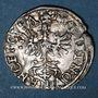 Coins Duché de Lorraine. Charles III (1545-1608). Demi-gros. Nancy (1582-1608)