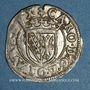 Coins Duché de Lorraine. Charles III (1545-1608). Sol ou carolus. Nancy (1582-1608)