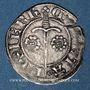 Coins Duché de Lorraine. Jean I (1346-1390). 1/4 de gros.  Sierck